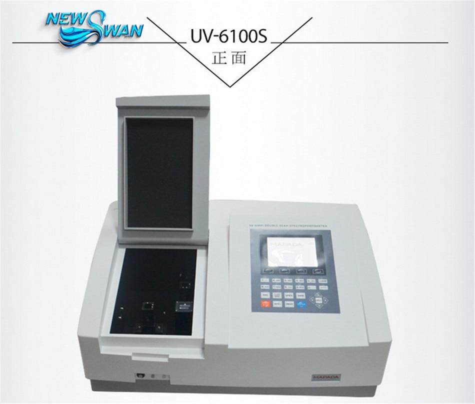UV 6100S Ultraviolet/Visible Spectrophotometer Wavelength UV Photometer Range 190 1100nm Bandwidth 0.5/1.0/2.0/4.0nm