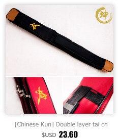 HTB1nXvIRFXXXXclXpXXq6xXFXXXy - Tai chi sword set 1.3m lengthen edition sword bags double layer High Quality Oxford Fabric Leather Kendo Aikido Iaido