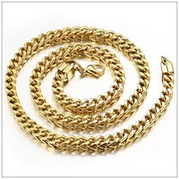 56cm*6mm 70g New Arrive Stainless Steel Gold Smooth Chain Men's Boy's Fashion Necklaces,High Quality Lowest Price