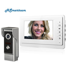 7 inch TFT Color Video door phone Intercom Doorbell System Kit IR Camera doorphone monitor Speakerphone intercom