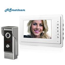 7 inch TFT Color Video door phone Intercom Doorbell System Kit IR Camera doorphone monitor Speakerphone intercom