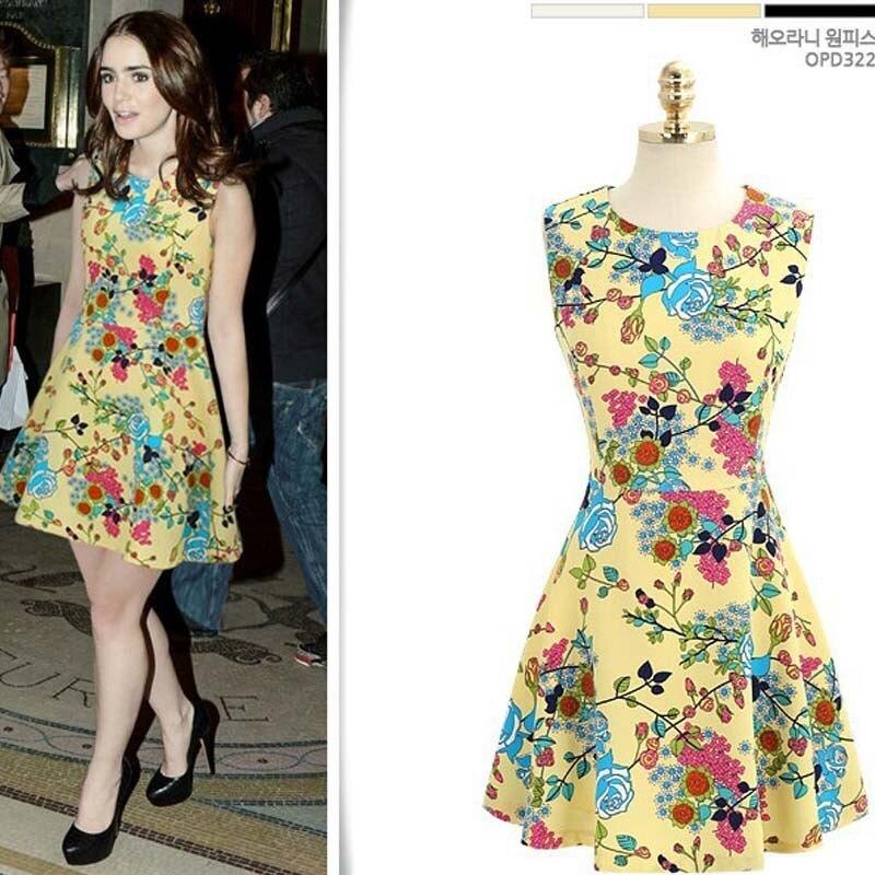 Women S Flower Dress