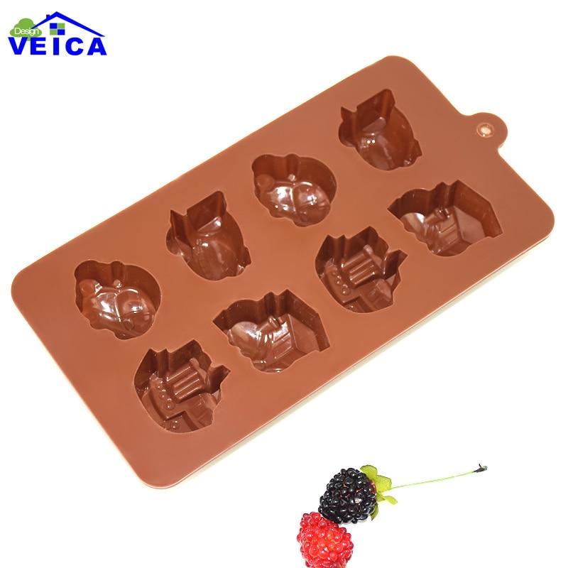 1 PCS Transport Forme Muffin Bonbon Sucré Jelly Gâteau fondant au chocolat  Moule Silicone outil de Cuisson Pan d6d9366c9e0