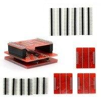 8pcs 100 Original Adapters MiniPro TL866 Universal Programmer TSOP32 TSOP40 TSOP48 SOP44 SOP56 Sockets TL866A TL866CS