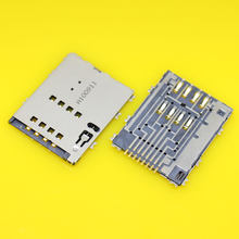 Cltgxdd KA-098 voor Samsung W999 S5750E P7500 I8530 P6800 S5250 P7100 p5100 w899 sim kaartlezer lade connector socket(China)