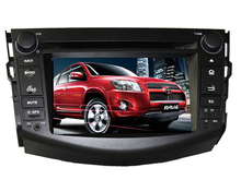 Android 6.0 16GB ROM quad core PX3 android car dvd fit for toyota rav4 2006-2012 bluetooth gps DVR radio wifi camera