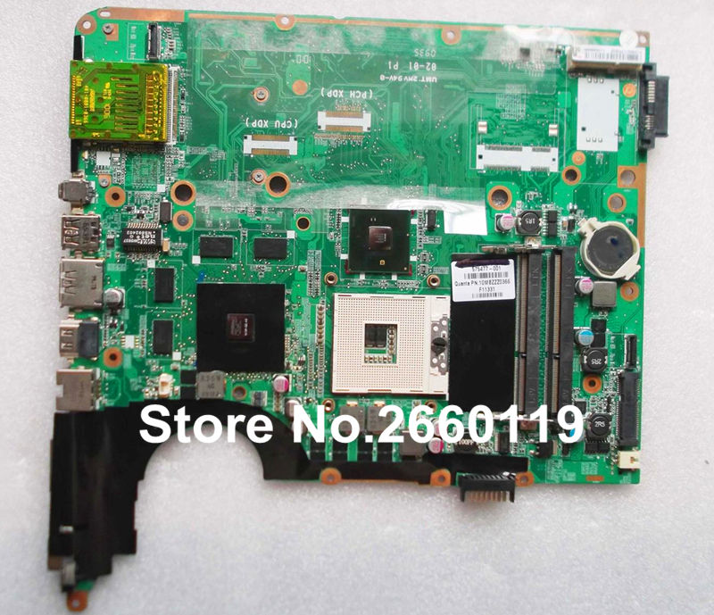 laptop motherboard for HP 605698-001 dv7 dv7-3000 system mainboard fully tested and working well with cheap shipping 600862 001 mainboard for hp dv7 laptop motherboard 100