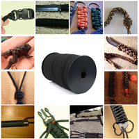 / 100M 9 Strands Paracord 550 Survival Rope Tactical Military Parachute Cord Lanyard Camping Hiking Climb Rescue Tent Equipment