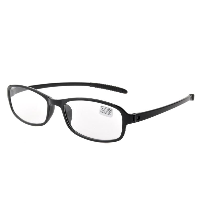 2018 Sale Gafas De Lectura Occhiali Da Lettura Leesbril Tr90 Memory Super Light Full Frame Glasses Quality Resin Lenses Reading