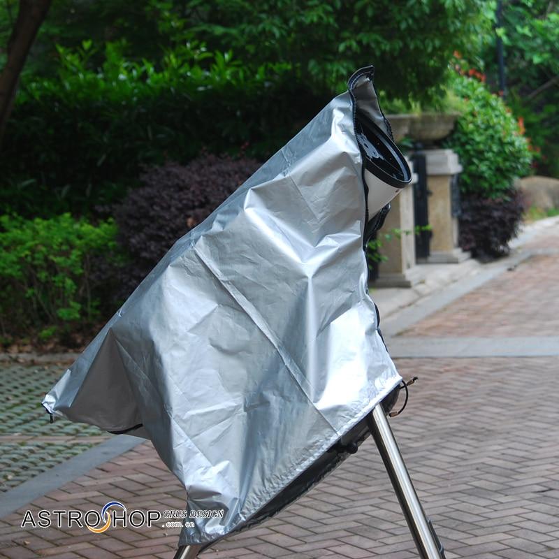 telescopio astronomico capa de poeira telescopio ao ar livre protecao solar anti orvalho luz danos eclipse