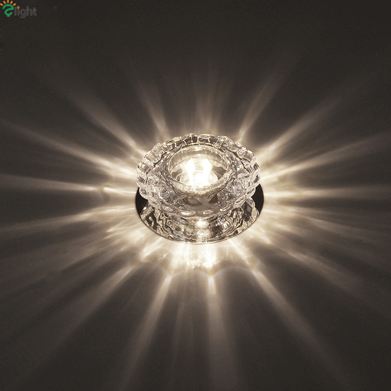 Modern Lustre Glass Led Chandeliers Lighting Chrome Panel Corridor Led Ceiling Chandelier Lights Living Room Chandelier Fixtures