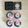 2016 Skateboard Parts Element ABEC-7 Skate Ball Bearings And Element PU 52mm Skate Wheels