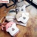Cute Cartoon Women Messenger Bag High Quality Animal Print Small Shoulder Crossbody Bags Hamster Oblique Satchel