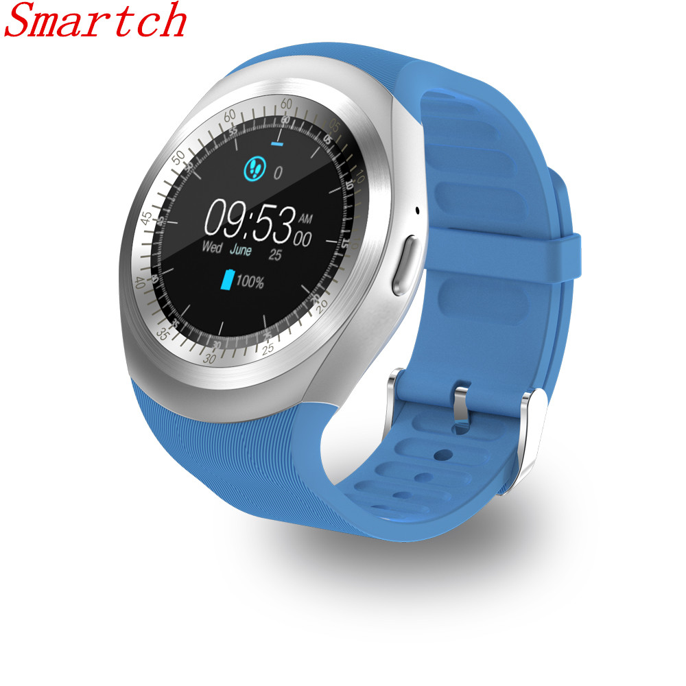 Smartch Y1 Bluetooth Smart watch wearable devices Sport Watch Wristwatch Intelligent Clock PK GT08 GV18 DZ09 for Android Phone meanit m5