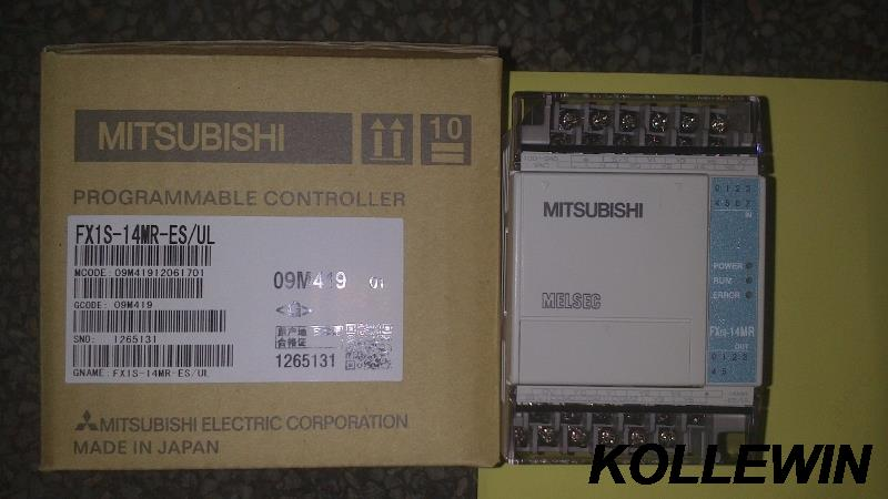 где купить  FX1S-14MR-ES/UL New Mitsu MELSEC PLC programmable controller FX1S-14MR  1 year warranty fast ship  дешево