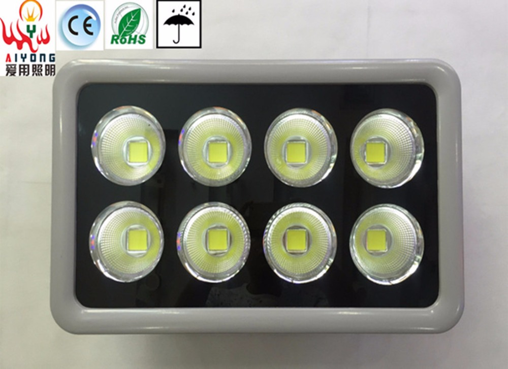 8 head LED floodlight 340W spotlight with cup light projection lamp waterproof outdoor advertising LED lamp headlight door