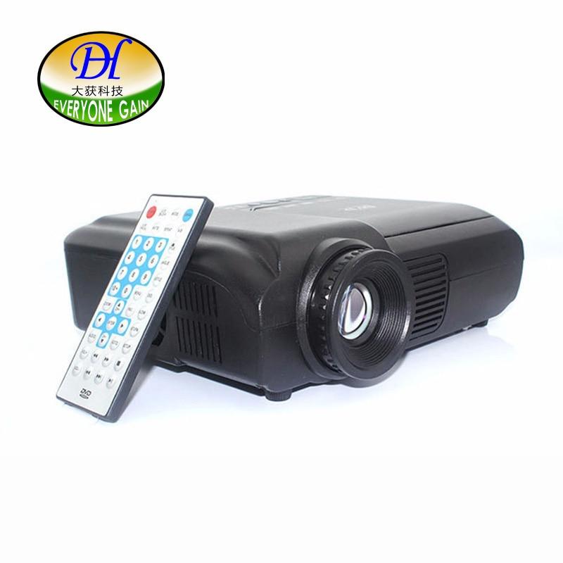Everyone Gain Entertainment Projector TL50 500 Lumens 320x240P Mini Projector Full HD For TV Home Theatre