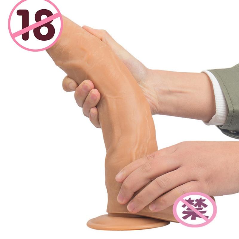 31X5.6 CM Big Dildo No Vibrator Suction Cup Dildo Realistic Huge Horse Dildos No Vibrators Adult Toys Toys For Woman Sex Shop