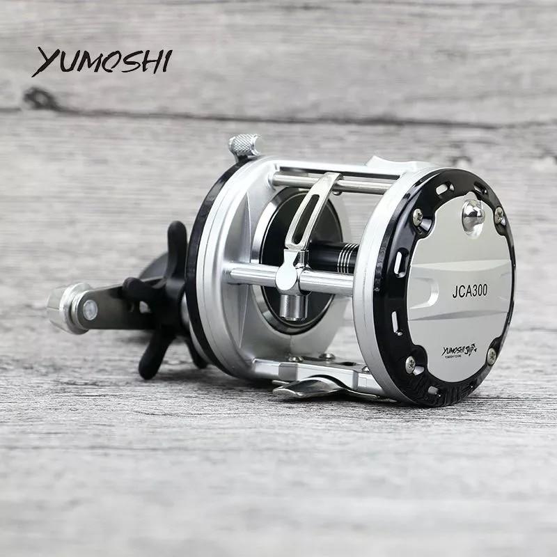 100 YUMOSHI JCA2000 3000 4000 5000 12 1BB Offshore Angling Gapless Drum Wheel Fishing Reel Moulinet