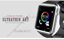 A1 smartwatch smart uhr mit touchscreen und dual sim cardled touchscreen uhr mit usb