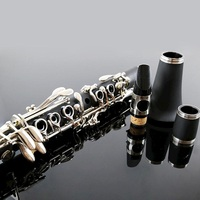 Classical tune G clarinet electroplating technology nickel plated playing G tone clarinet rofessional level bakelite G clarinet