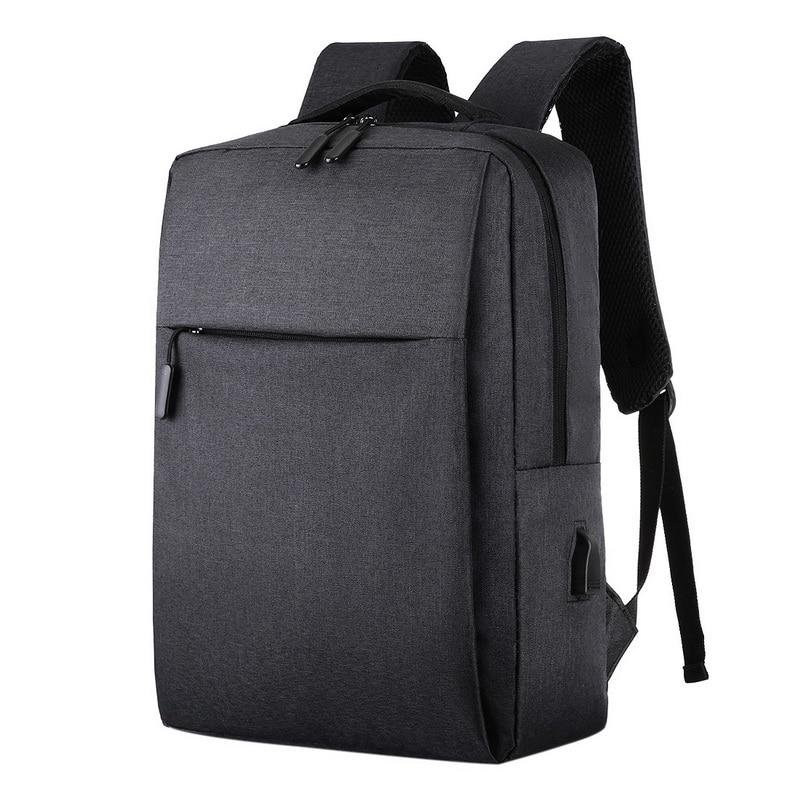 Litthing Usb Backpack Mochila Rucksack Laptop School-Bag Travel Anti-Theft Male New Men