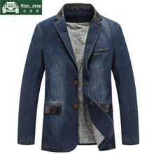 New 2018 Brand Jacket Men Denim Jackets Coat Winter Windbreaker Slim F