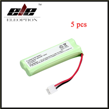 Eleoption 5 pcs Home Phone Battery Walkie Talkie Battery 2.4 V 500 mAh Home Phone Battery for CPH-518D/BT-28443/BT-18443
