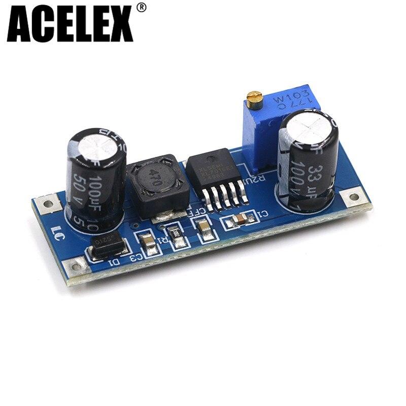 1pcs XL7015 DC-DC Dc Converter Step-down Module 5V-80V Wide Voltage Input 7005A LM2596