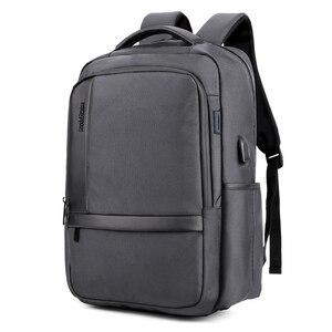 Image 5 - של גברים 15.6 Inch מחשב נייד המוצ ילה עבור feminina טעינת USB חיצוני מטען עמיד למים בית ספר חבילה חזרה מוצ ילאס