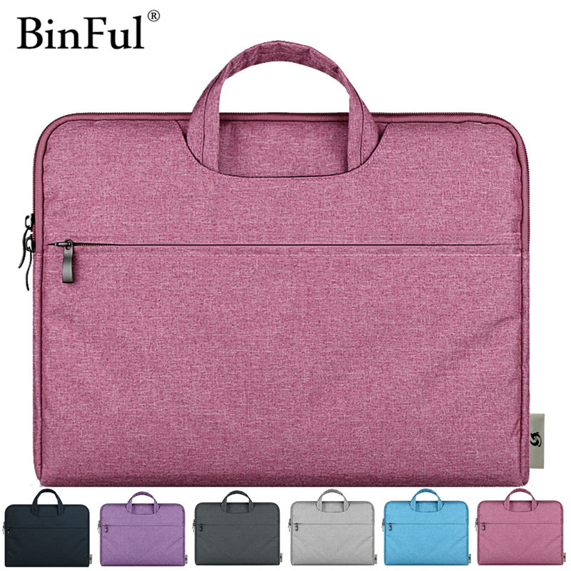 BInFul Fashion 11,12,13,15 15.6 inch Universal Laptop Ultrabook Notebook laptop Bag for Macbook Air Pro Sleeve Case Women Men