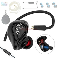 Gift KZ ZS3 In Ear Earphone Earbuds Headset Hifi Earphones With Out Mic Bluetooth Kit For