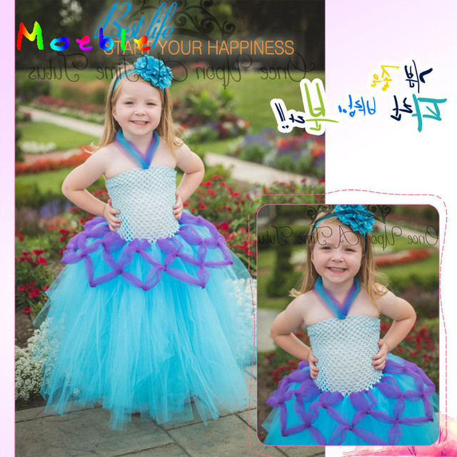 Adorable Baby Girls Cartoon Tutu Dress Birthday Outfit Kids Photography Props Children Cosplay Costume Clothing Party Dresses