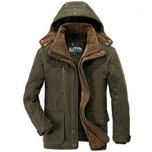 Новинка минус 40 градусов зимняя куртка мужская утолщенная теплая ватная куртка мужская ветровка с капюшоном парка размера плюс 5XL 6XL пальто
