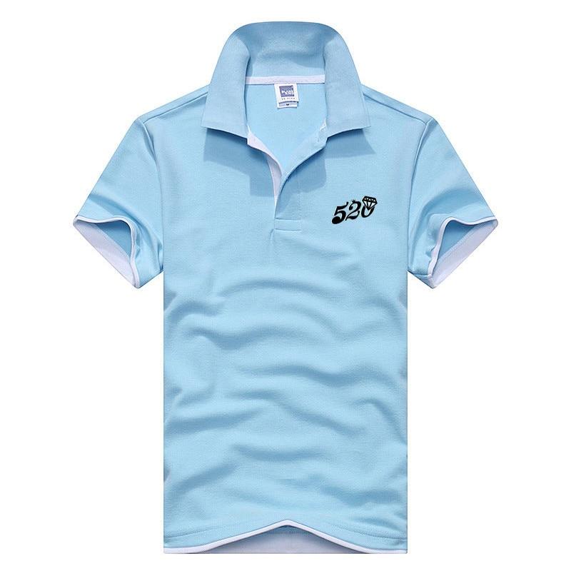 Nova Camisa Polo dos homens do Algodão dos homens de Manga Curta Camisa  Camisa Camisa Golftennis 59fb08b2d4a94