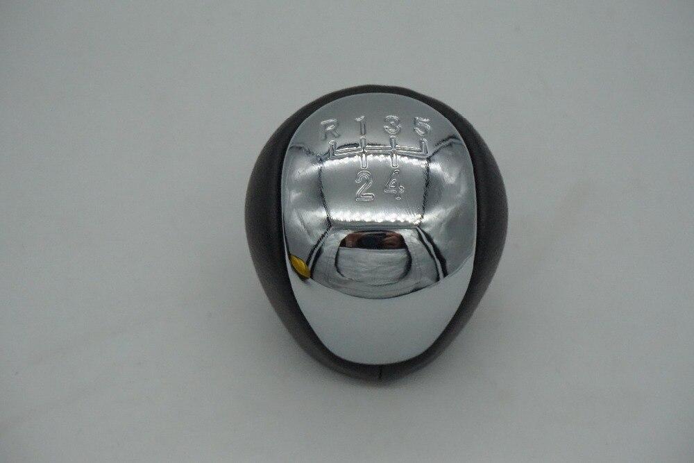 5/6 Speed Gear Shift Pomello Del Cambio Leva Testa di Pallamano chrome per Hyundai Elantra I30 07-11 Touring KIA Cerato forte Koup