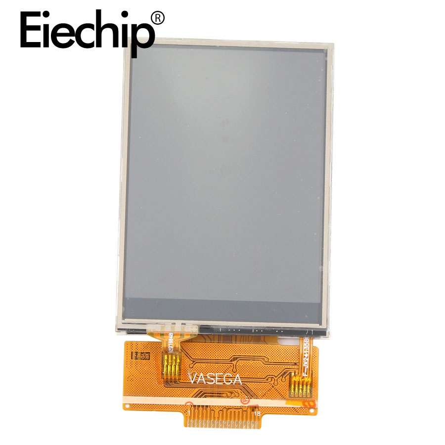 LCD display 2.4 inch ili9341 <font><b>SPI</b></font> Serial <font><b>TFT</b></font> LCD Without Touch 4IO Port 18 pin 240X320 <font><b>TFT</b></font> Color Screen for <font><b>Arduino</b></font> Diy image