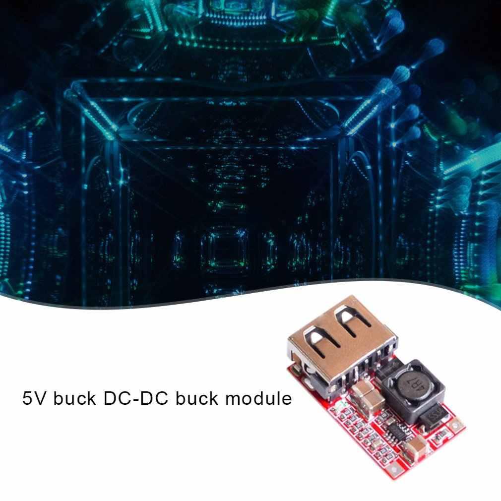 Efficiency 97.5% DC-DC Step-Down Module 6-24V 12V 24V to 5V 3A Car USB Phone Charger Exquisitely Designed Durable
