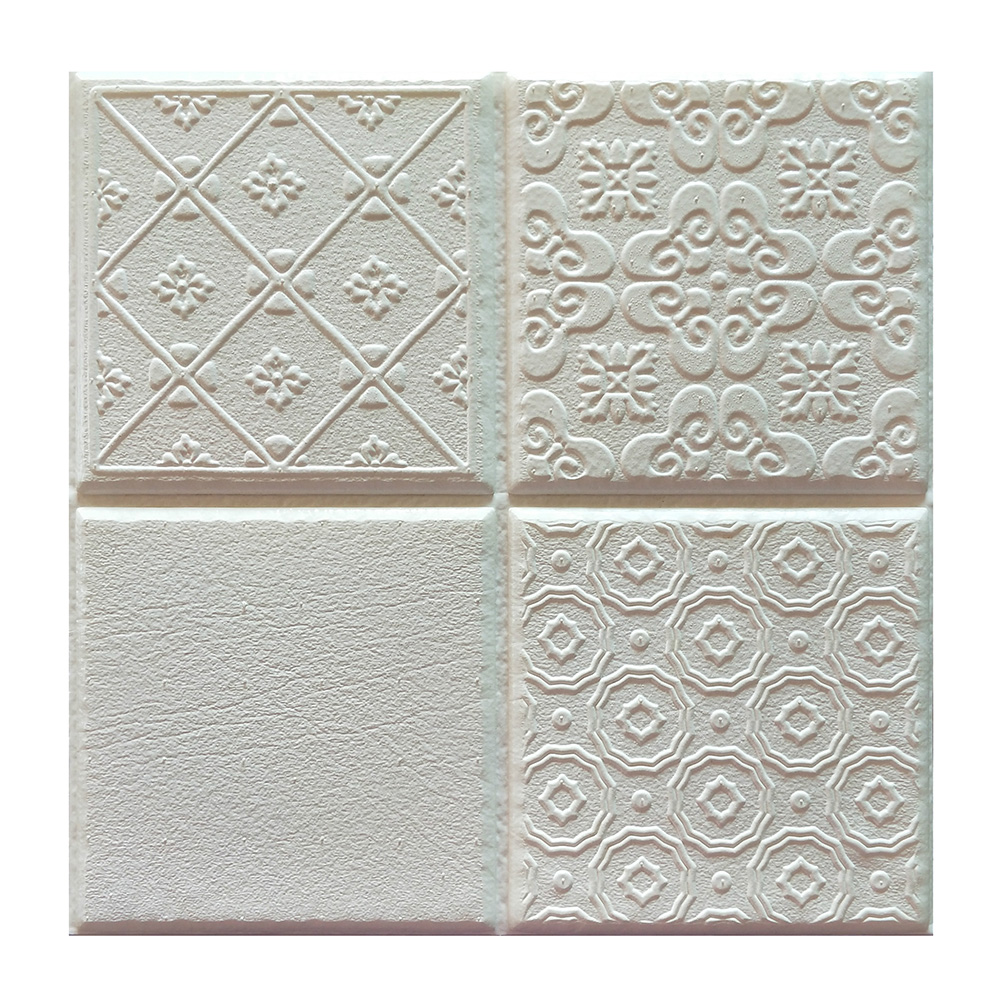 Self adhesive 3D Decorative Wall Tile Stickers Waterproof ...