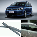 4pcs Blade Side Windows Deflectors Door Sun Visor Shield For Volkswagen Touran