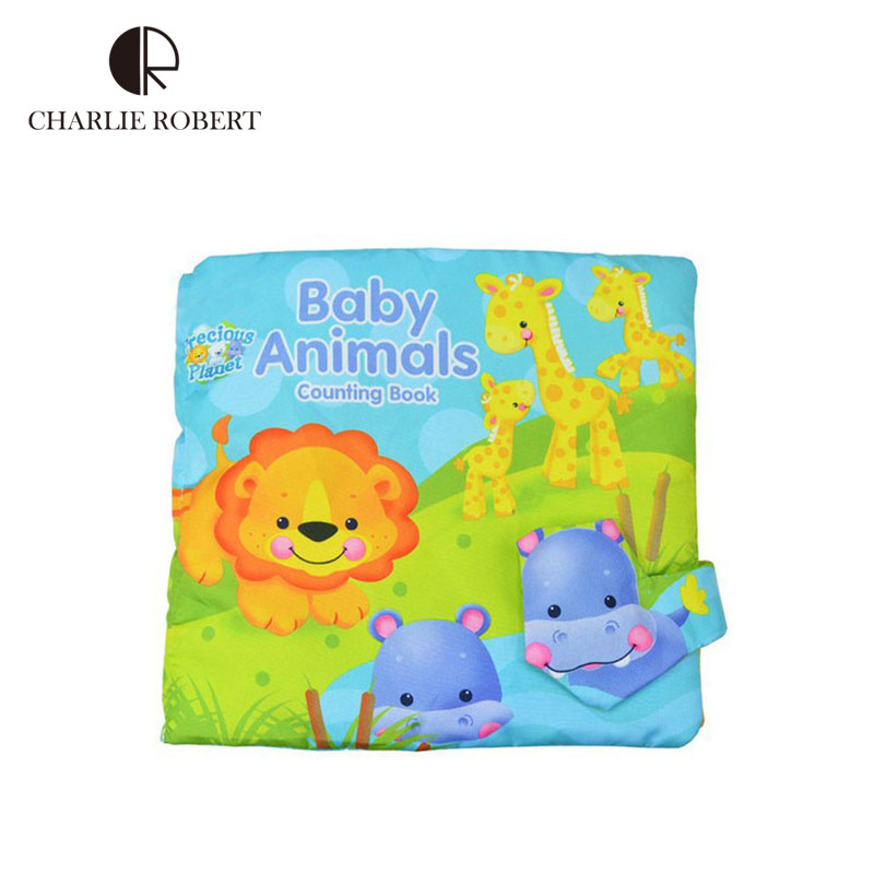 0 3 year baby cloth book baby toys infant fabric activity quiet book soft cloth