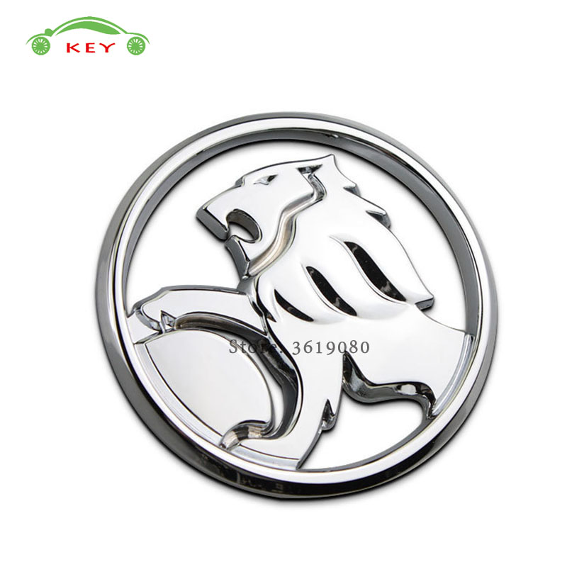 цена на 9.5cm Car Styling for Holden Stickers Lion Logo Auto Metal Emblem Badge Decal for Holden commodore colorado hsv cruze captiva