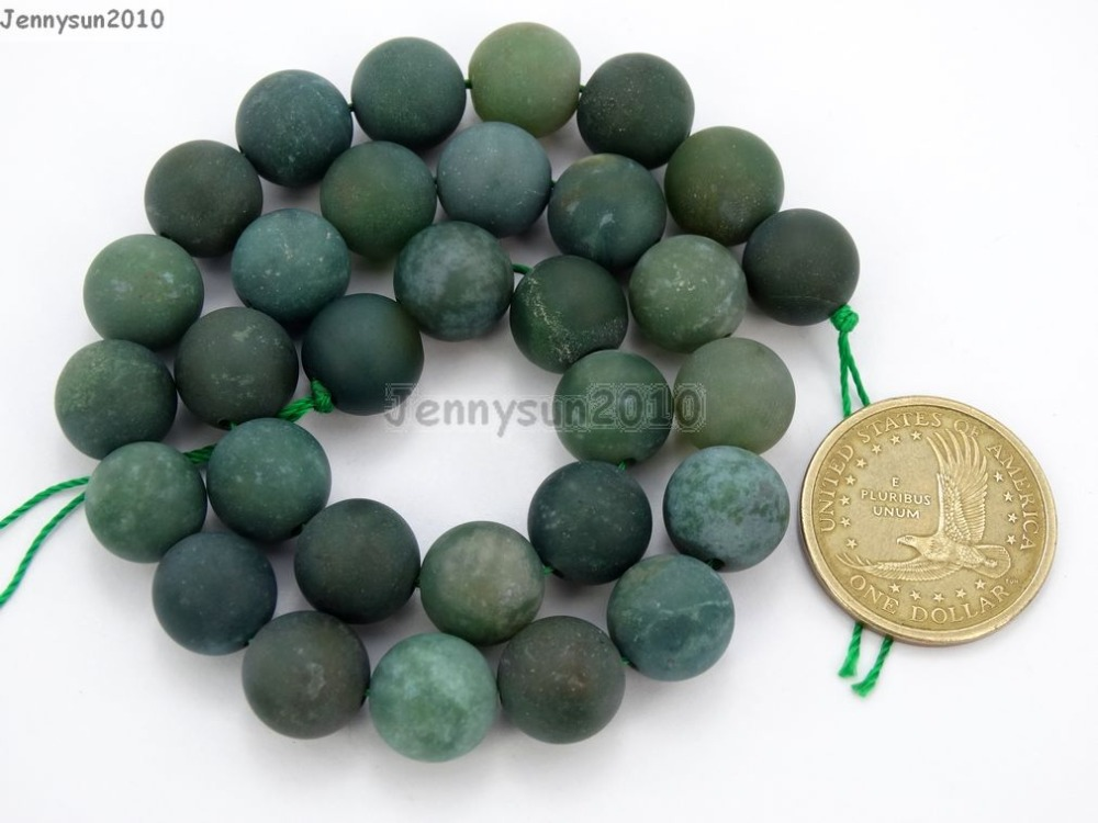 Beads Natural Matte Multi-colored Cherry Quartz 10mm Frosted Gems Stones Round Ball Loose Spacer Beads 15 5 Strands/ Pack