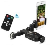 C100 Pro 3 Wheels Wirelesss Video Camera Auto Dolly Track Slider Dolly