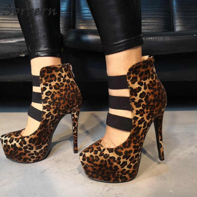Sorbern Leopard High Heels Women Pumps Shoes 2019 New Pumps For Women Platform High Heels Ladies Heels PumpsSorbern Leopard High Heels Women Pumps Shoes 2019 New Pumps For Women Platform High Heels Ladies Heels Pumps