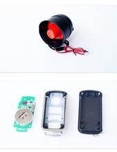 universal remote car alarm one – way sound and light alarm anti – theft alarm system anti – theft central locking system