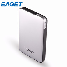 EAGET G30 500G 1T 2T 3T Mobile External Hard Drives HDDs 2.5» USB 3.0 High-Speed Desktop Laptop Mobile Hard Disk For Windows