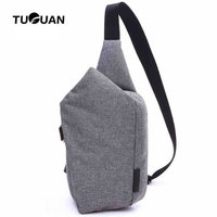 New Brand Men Messenger Bags Canvas Chest Pack Casual Men S Travel Shoulder Bag Crossbod Sacoche