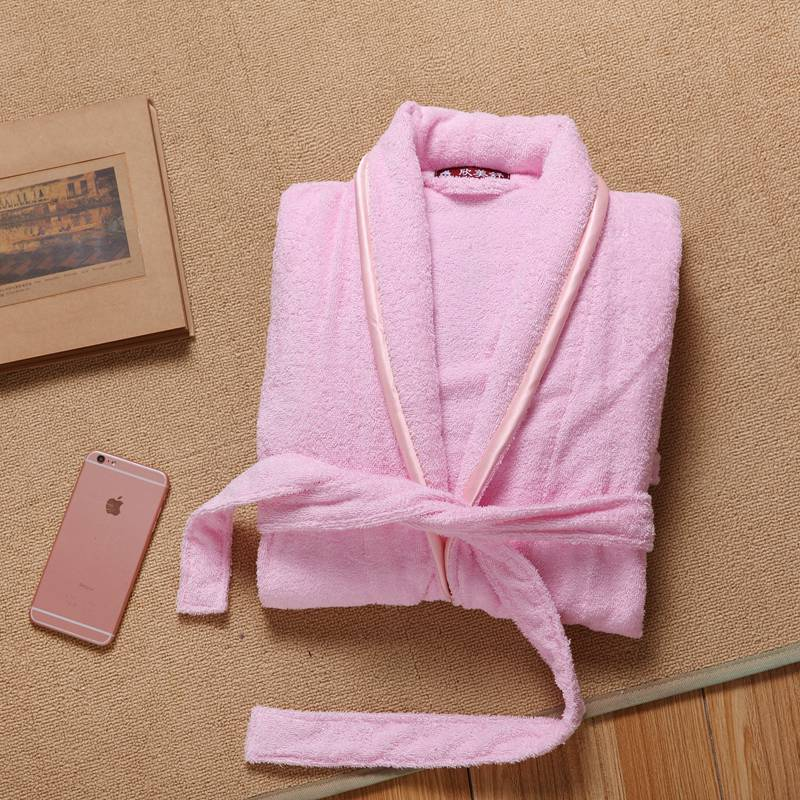 Winter Long Bathrobe Women Cotton Nightdress Thick Warm Bath Robes Clothes Dressing Gown Women s Bathrobe