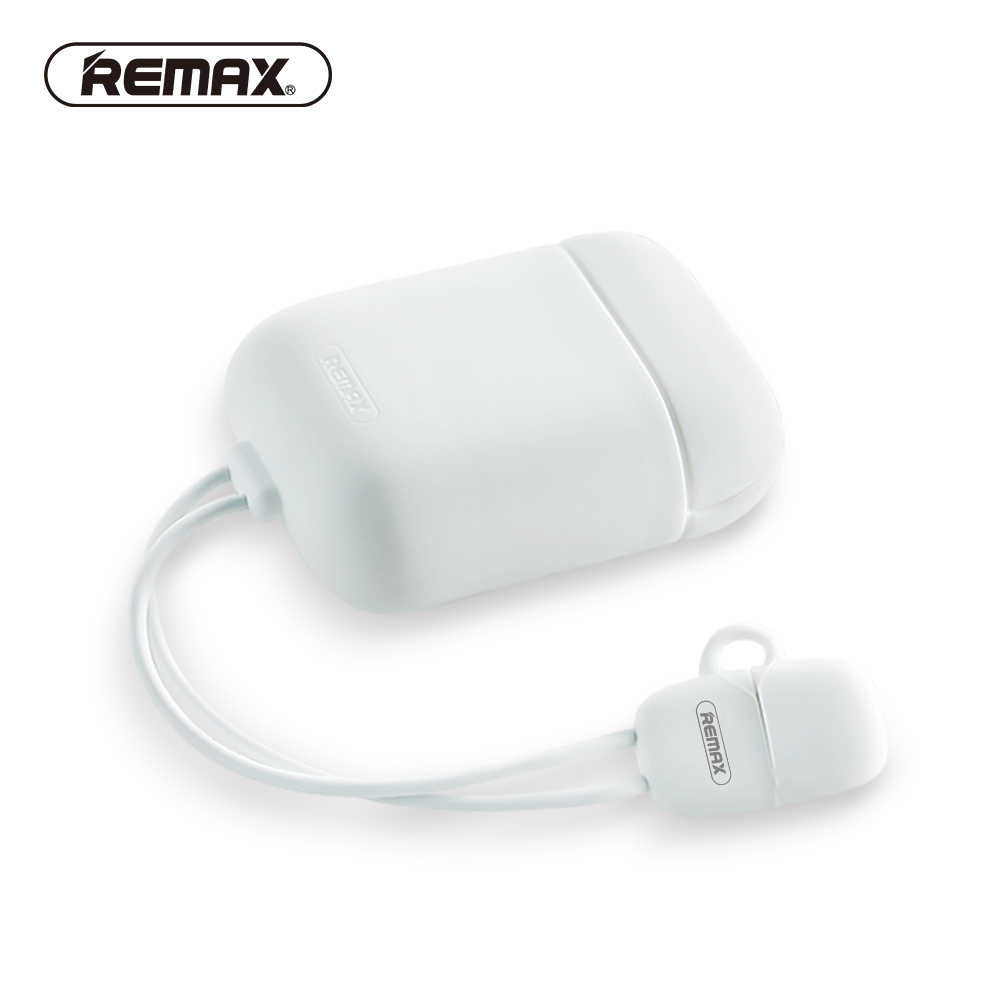 REMAX Silicone for Airpod Protective Cover Anti-shock Soft Skin Case For Airpods funda protectora Earphones 2.1A Charging Case wholesale 20 x pc case fan silicone anti vibration shock absorption noise reduction screws dropshipping
